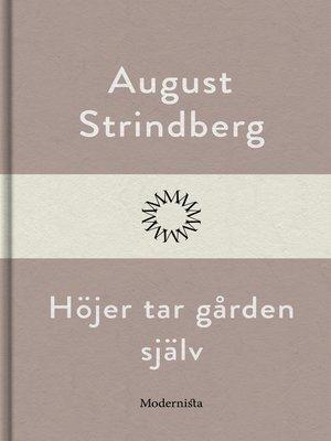 cover image of Höjer tar gården själv