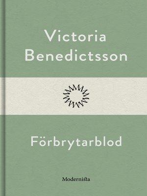 cover image of Förbrytarblod