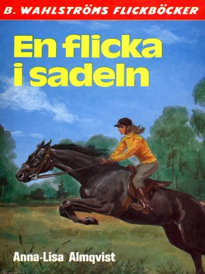 cover image of En flicka i sadeln
