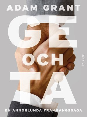 cover image of Ge och ta