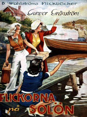 cover image of Flickorna på Solön