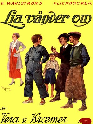 cover image of Lia vänder om