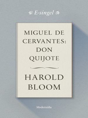cover image of Miguel de Cervantes