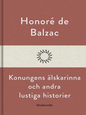 cover image of Konungens älskarinna och andra lustiga historier