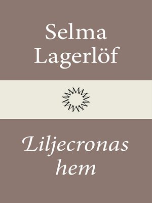 cover image of Liljecronas hem