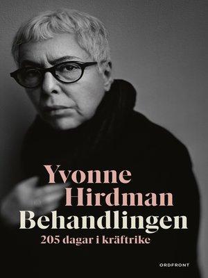 cover image of Behandlingen