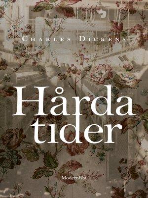 cover image of Hårda tider