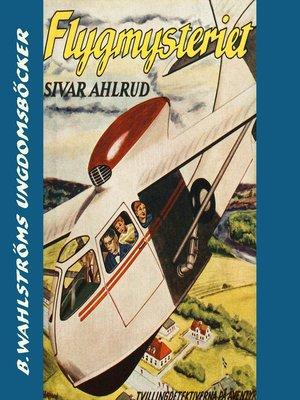 cover image of Tvillingdetektiverna 4--Flyg-mysteriet
