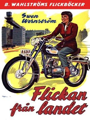 cover image of Flickan från landet