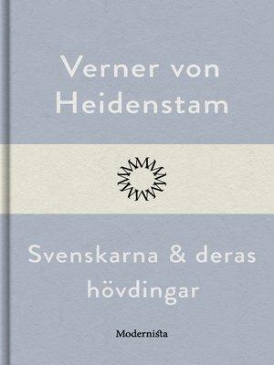 cover image of Svenskarna och deras hövdingar
