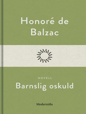 cover image of Barnslig oskuld