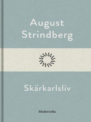 cover image of Skärkarlsliv