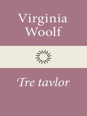 cover image of Tre tavlor