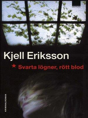 cover image of Svarta lögner, rött blod