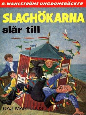 cover image of Slaghökarna 1--Slaghökarna slår till