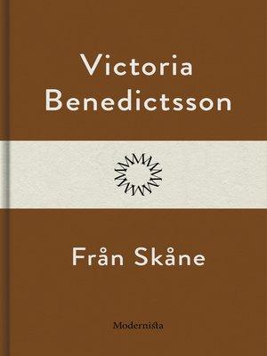 cover image of Från Skåne