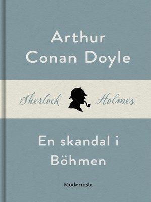 cover image of En skandal i Böhmen (En Sherlock Holmes-novell)