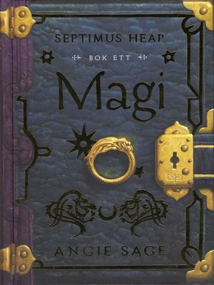 cover image of Septimus Heap 1--Magi