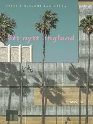 cover image of Ett nytt England