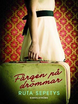 cover image of Färgen på drömmar