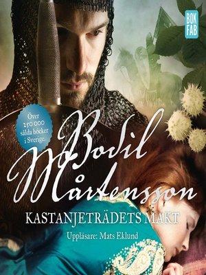cover image of Kastanjeträdets makt