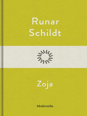 cover image of Zoja