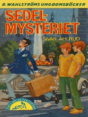 cover image of Tvillingdetektiverna 39--Sedel-mysteriet