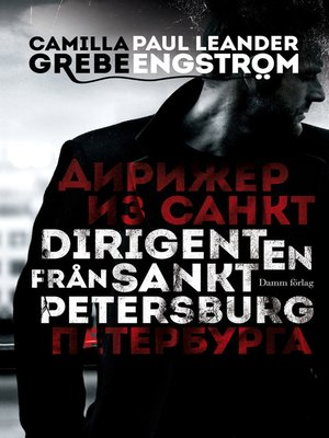 cover image of Dirigenten från Sankt Petersburg