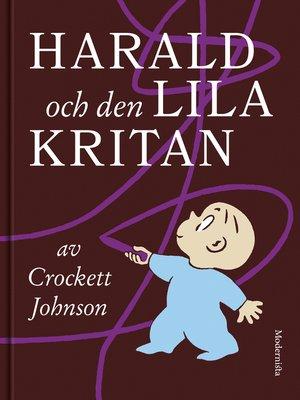 cover image of Harald och den lila kritan