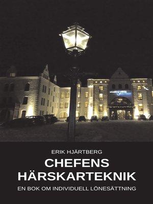 cover image of Chefens härskarteknik