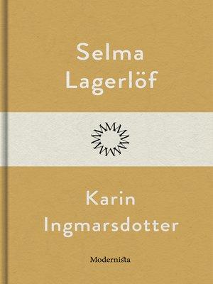 cover image of Karin Ingmarsdotter