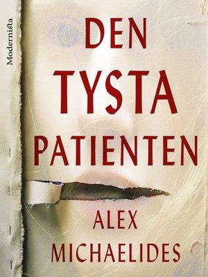 cover image of Den tysta patienten