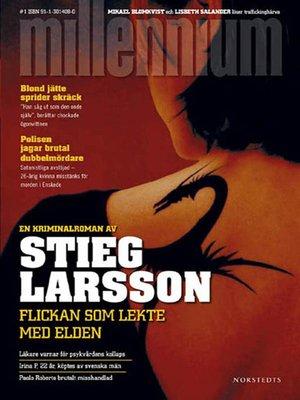 cover image of Flickan som lekte med elden
