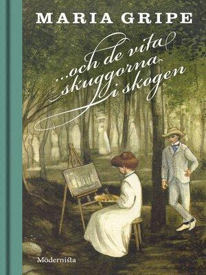 cover image of ...och de vita skuggorna i skogen (Skuggserien, del 2)
