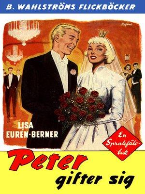 cover image of Fröken Sprakfåle 24--Peter gifter sig