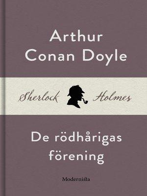 cover image of De rödhårigas förening (En Sherlock Holmes-novell)