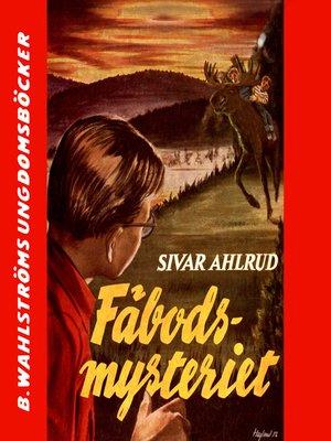 cover image of Tvillingdetektiverna 8--Fäbods-mysteriet