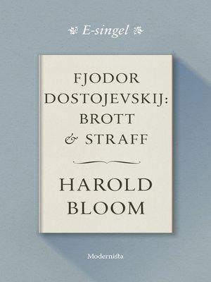cover image of Fjodor Dostojevskij