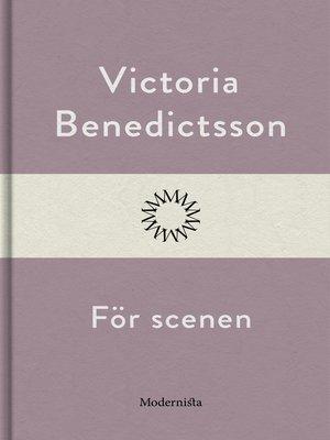 cover image of För scenen