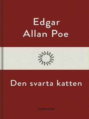 cover image of Den svarta katten
