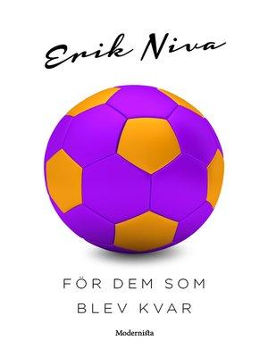 cover image of För dem som blev kvar
