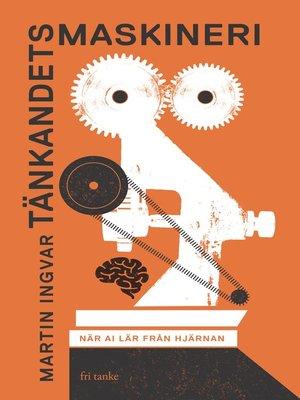 cover image of Tänkandets maskineri