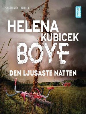 cover image of Den ljusaste natten