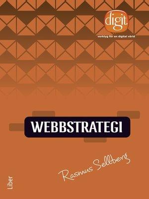 cover image of Webbstrategi