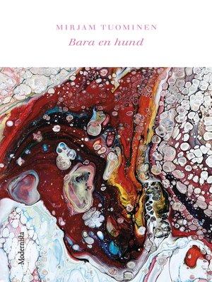cover image of Bara en hund
