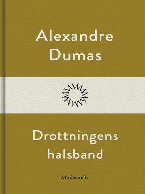 cover image of Drottningens halsband