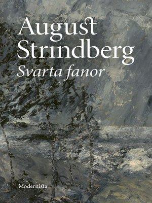cover image of Svarta fanor