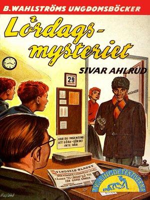 cover image of Tvillingdetektiverna 16--Lördags-mysteriet