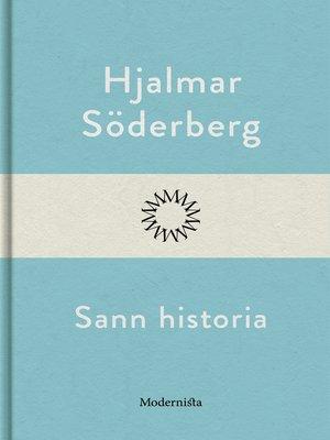 cover image of Sann historia