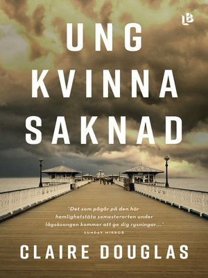 cover image of Ung kvinna saknad